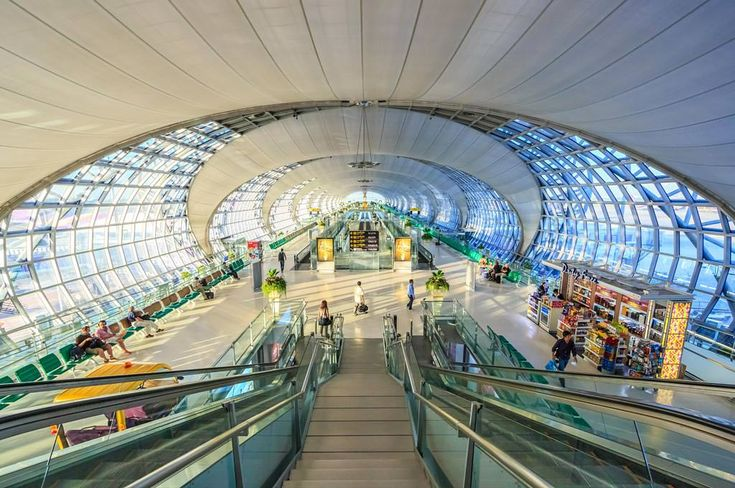 Suvarnabhumi Airport / Helmut Jahn