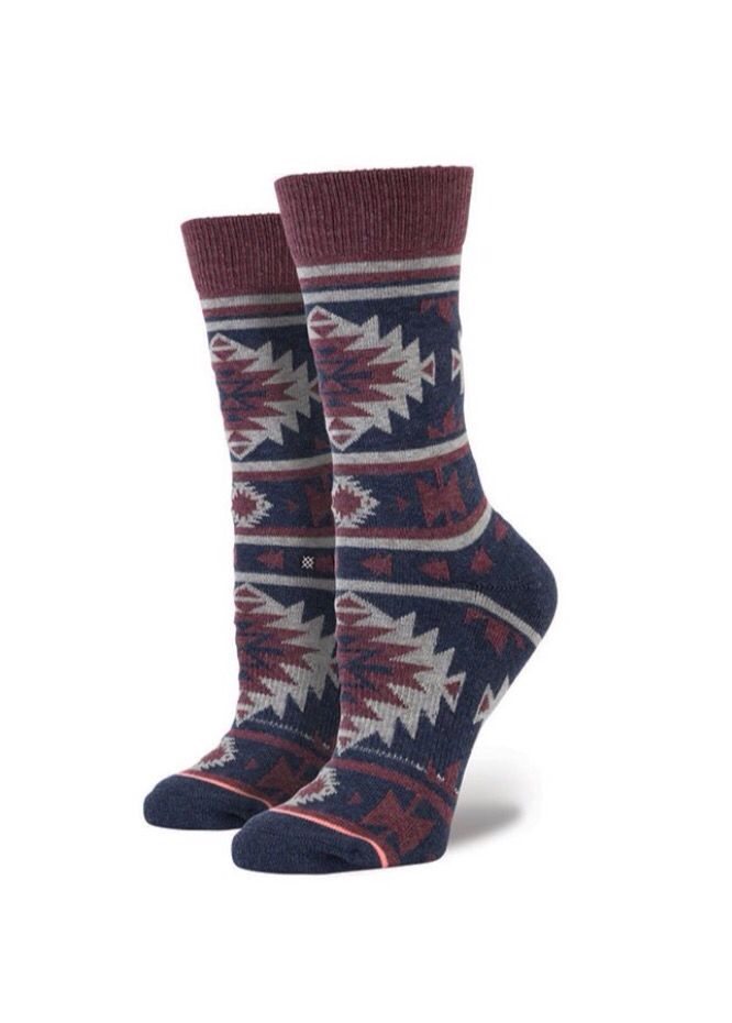 Womens Stance Socks. Nu Native Tribal Pattern. Sock goals