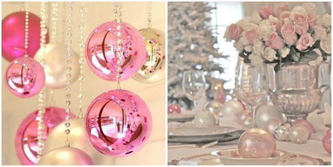 Natal Cor de Rosa   Sua Casa Sua Festa