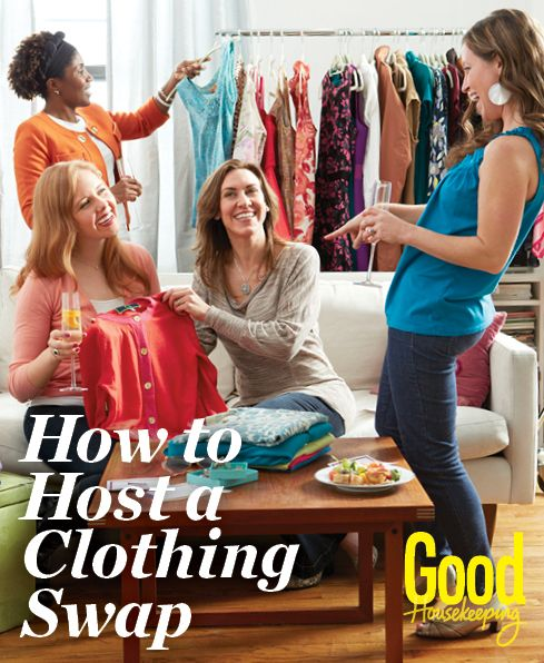 How to Host a Clothing Swap: Sick of what's in your wardrobe? Grab a group of friends and score some great new finds – free!