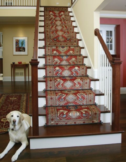 oriental runners for stairs | Stairs & Runners - Mark Gonsenhauser's Rug & Carpet Superstore ...