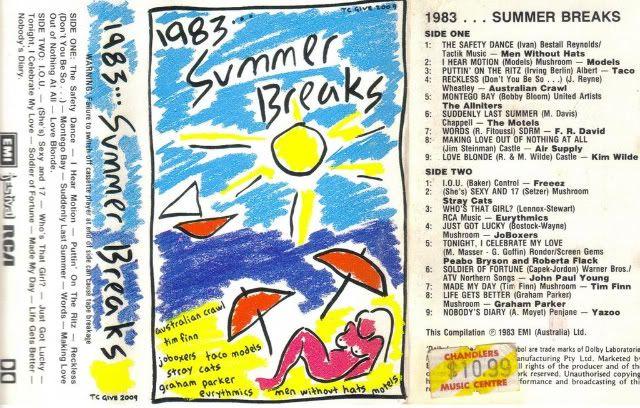 Tapes: 1983 1983 Summer Breaks