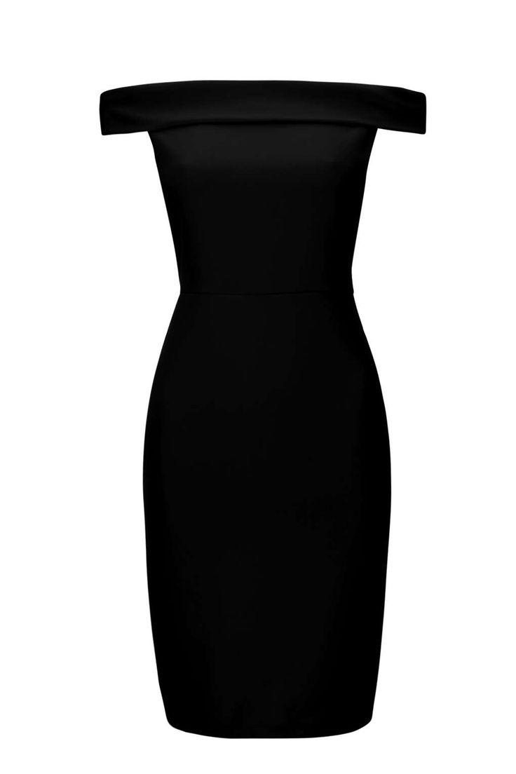 Black Bardot Dress                                                       …