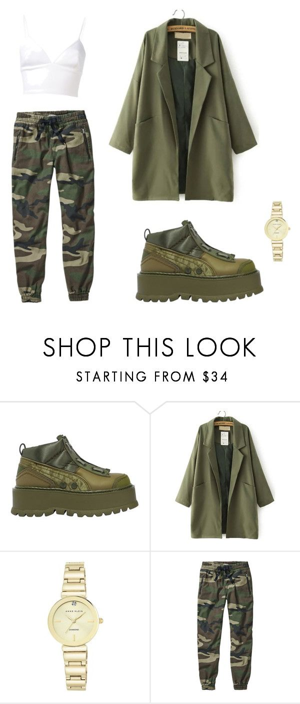 """""""Untitled #20"""" by taniacrowell on Polyvore featuring Puma, Anne Klein and Clover Canyon"""