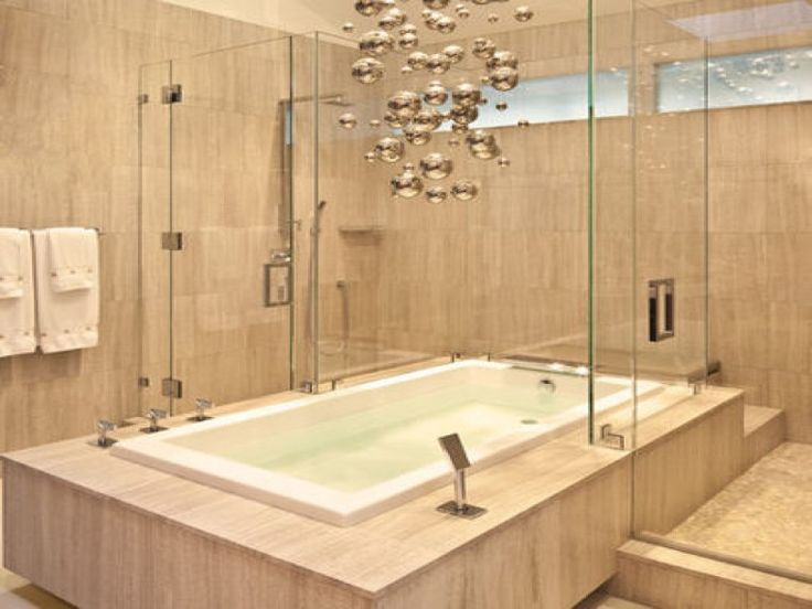 Bathtub Shower Combo Install With Contemporary Soaking Corner Tub And  Whirlpool