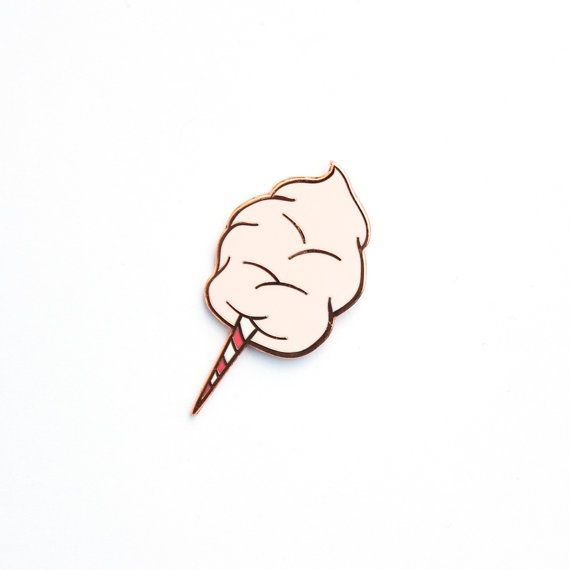 Cotton Candy Hard Enamel Lapel Pin