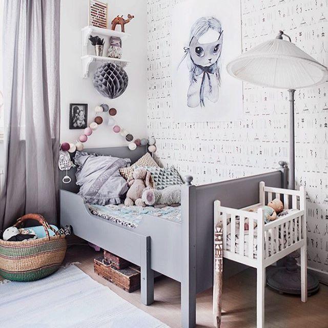 mommo design: GREY IN KIDS' ROOM