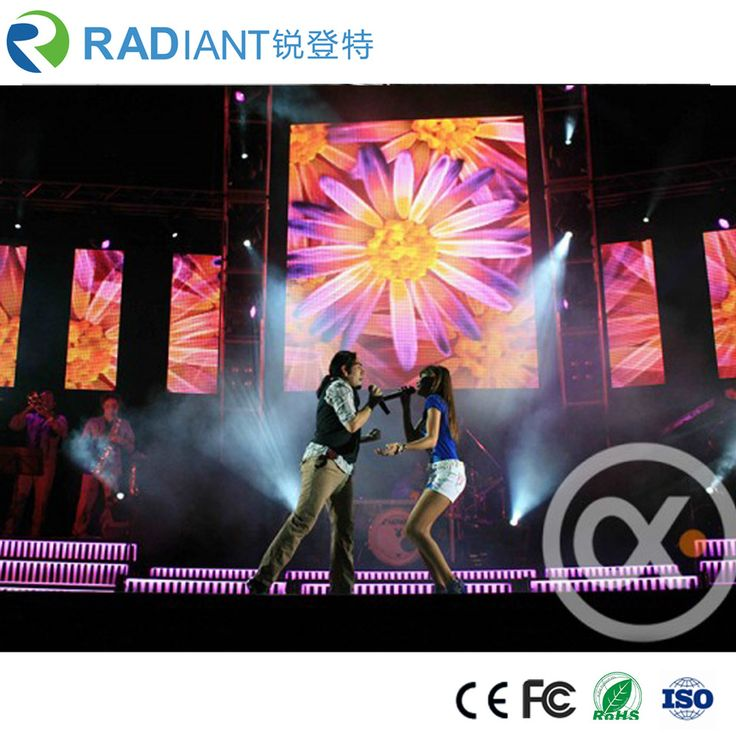 Outdoor P4.81 rental led video wall screen with ISO certification