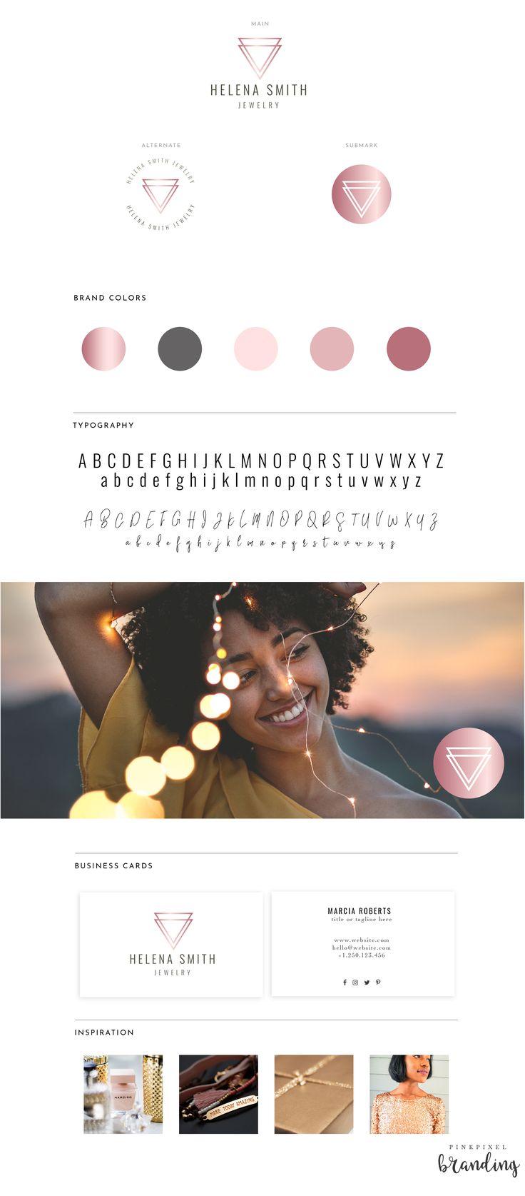 Love the simplicity of this! So pretty <3 #logodesign #minimalistlogo #geometriclogo #logo