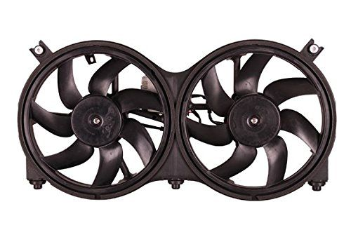 Dual Radiator and Condenser Fan Assembly - Cooling Direct For/Fit NI3115149 13-17 Nissan Pathfinder 14-14 Hybrid 14-16 Infiniti QX60/Hybrid 13-13 JX35 #Dual #Radiator #Condenser #Assembly #Cooling #Direct #For/Fit #Nissan #Pathfinder #Hybrid #Infiniti #QX/Hybrid
