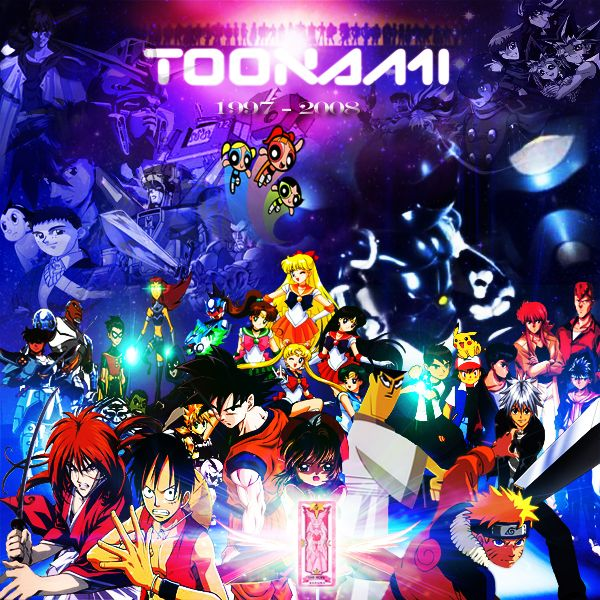 The Old Toonami Line Up Farwell Tribute (you know Toonami just got revived for Adult Swim last year)