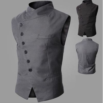 Side Button Waistcoat I love the tight details