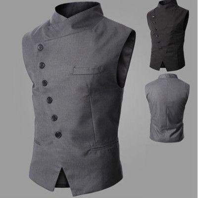 Side Button Waistcoat   Deal Man