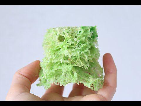 Мох бисквитный / Sponge moss - YouTube