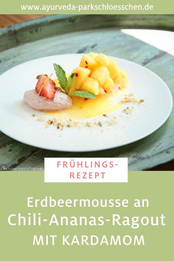Ayurvedisches Frühlingsrezept: Erdbeer-Kardamom-Mousse an ...