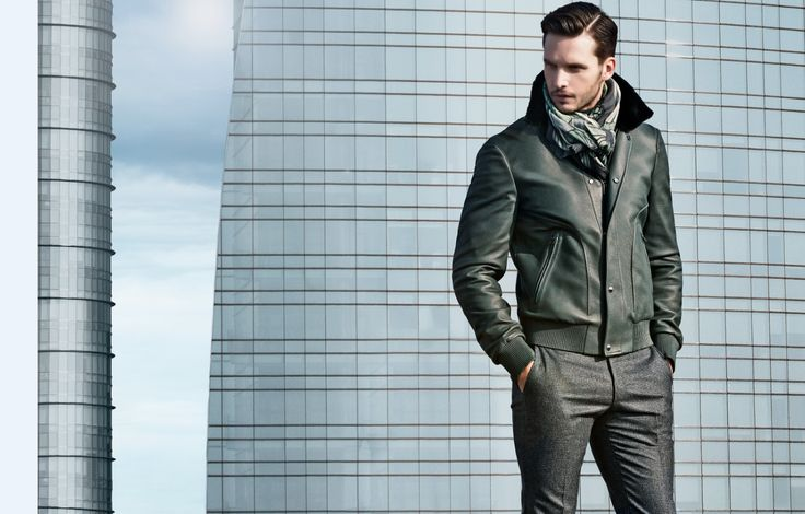 Larusmiani FW15/16 Menswear Collection shot on the rooftops of Milan