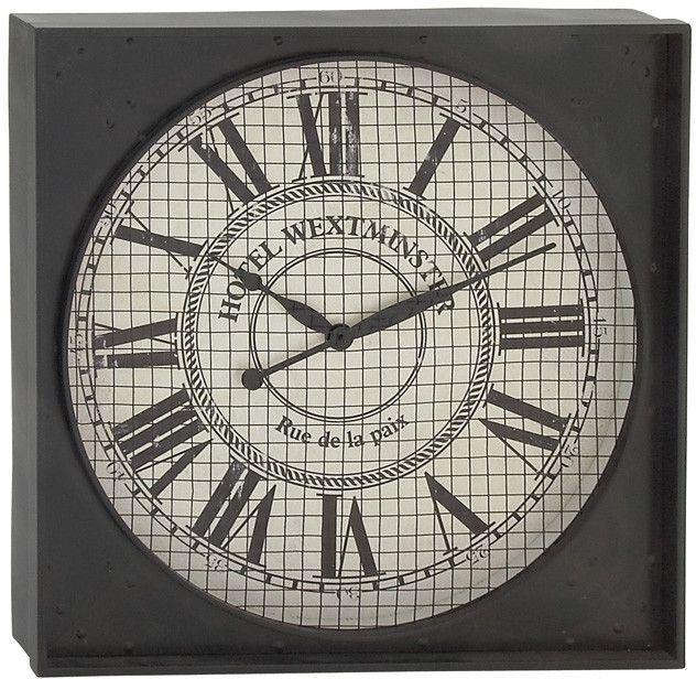 Bayden Hill Metal Wall Clock 26\