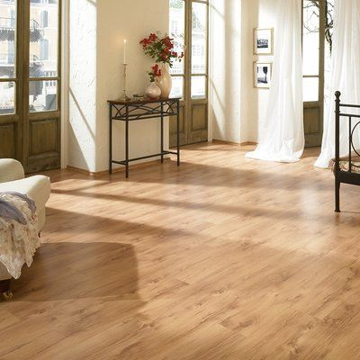 Elesgo Floor Usa 7 X 47 X 8mm Oak Laminate Flooring In Tan Products