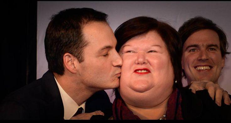 Alexander de Croo (Deputy Prime Minister of Belgium) and Maggie de Block (Belgian  Minister of Social Affairs and Health)