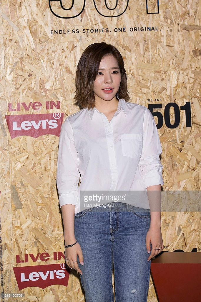 Sunny of South Korean girl group Girls' Generation attends the photocall for Levi's 'We Are 501' on March 31, 2016 in Seoul, South Korea.