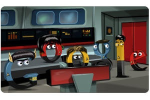 #GoogleDoodle celebrates #StarTrek  Innovation news articles and blogs - The Christian Science Monitor - CSMonitor.com