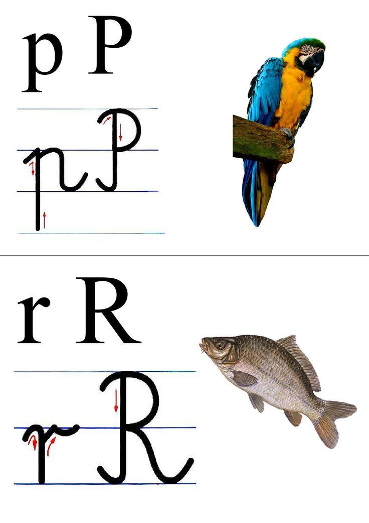 alfabet + obrazek do druku 9