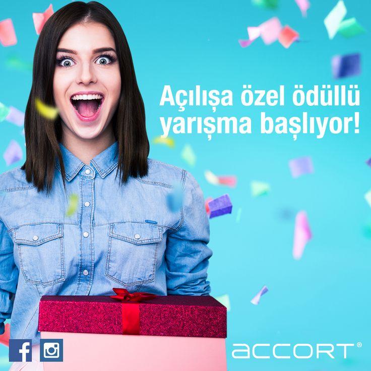 accort.com.tr adresine gir e-posta kaydını yap ve süprizleri yakala