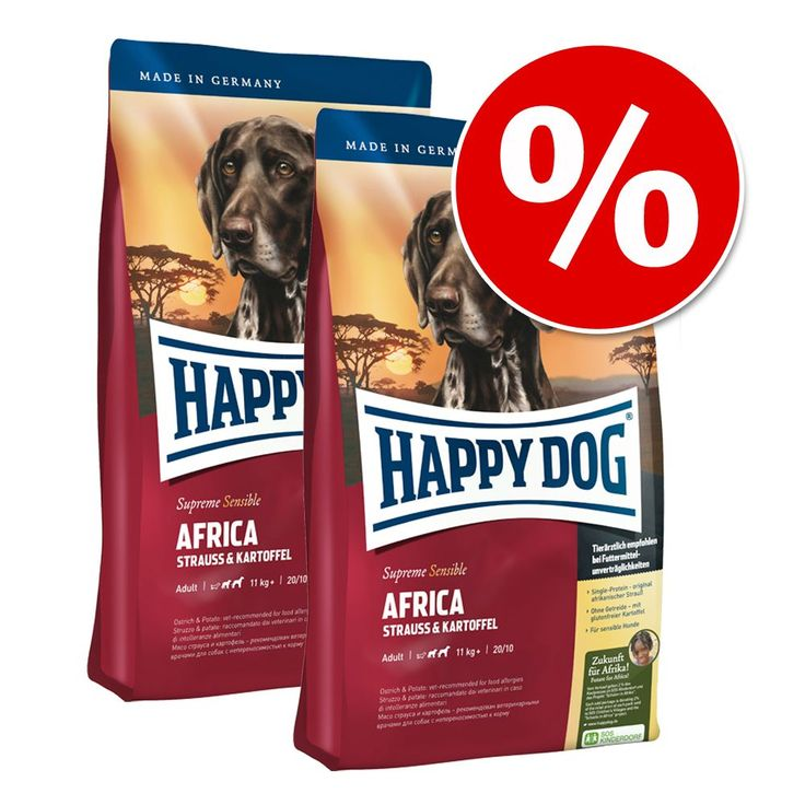 Animalerie  Lot Happy Dog Supreme pour chien  Young Maxi Junior (Phase 2) (2 x 15 kg)