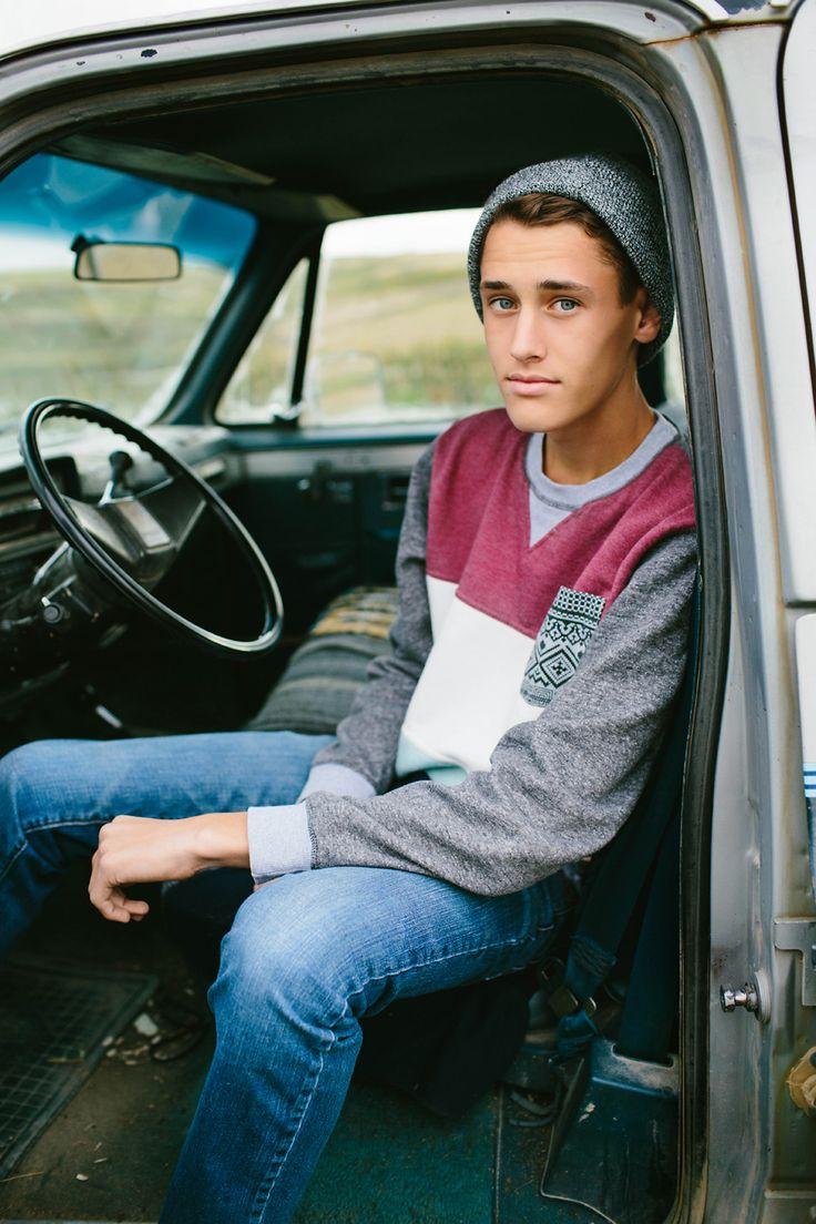 Truck senior photo. good idea for a high school boy's photo