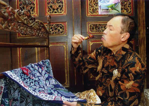 The late Iwan Tirta, Indonesian batik designer