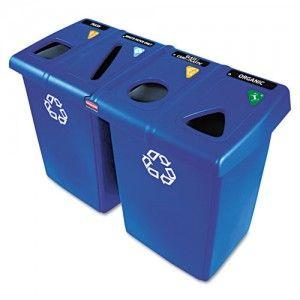 Contenedores de residuos reciclables