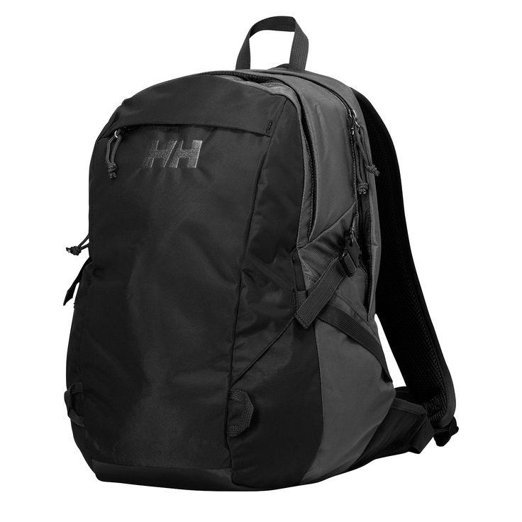 Helly Hansen Panorama 2.0, 23 literes hátizsák fekete színben. laptop és tablet rekesszel ellátva.