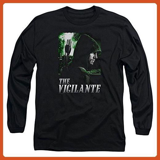 Arrow CW Superhero TV Series The Vigilante Adult Long Sleeve T-Shirt - Superheroes shirts (*Partner-Link)