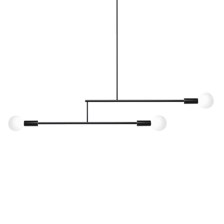 A Pendant Mobile Light With Rotating Arms This Sculptural Centerpiece Is Perfect For Any Contemporary