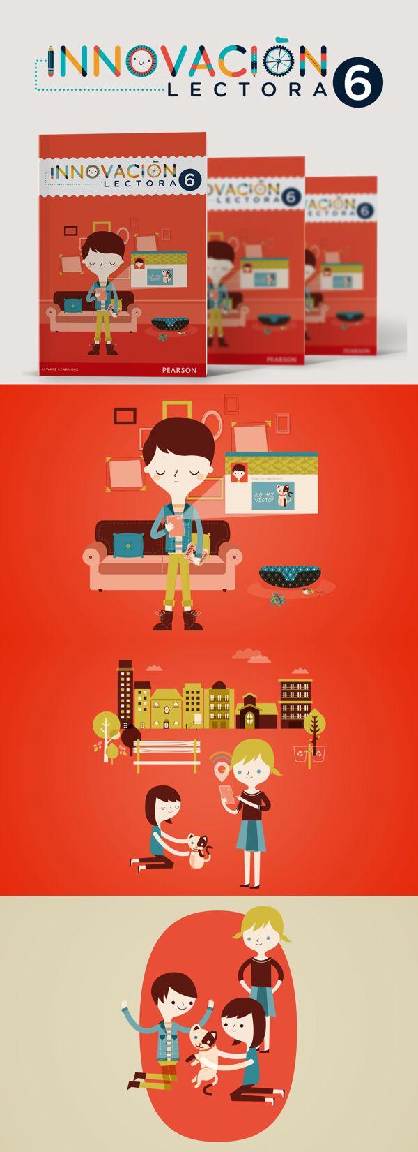 Innovación Lectora 6 by Cherry Bomb Design Studio, via Behance
