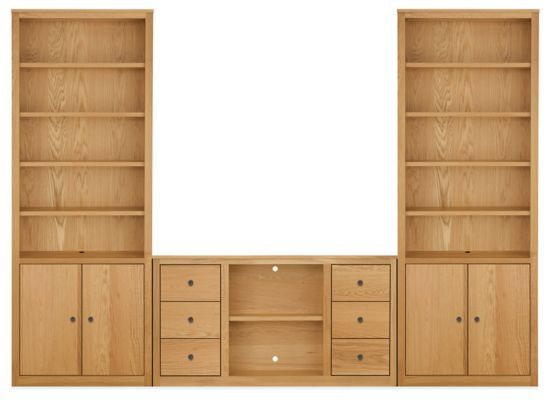 Woodwind 86h Bookcase Wall Units Modern Bookcases Shelves Modern Office Furniture Bookcase Wall Unit Bookcase Wall Modern Media Cabinets