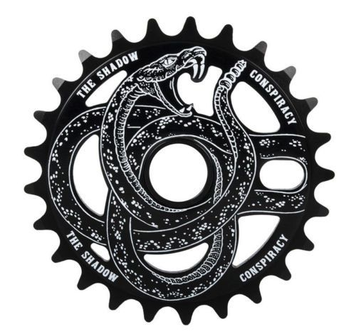 For Bro.    The-Shadow-Conspiracy-Serpent-BMX-Sprocket-25T-BLACK-Snake-Sprocket