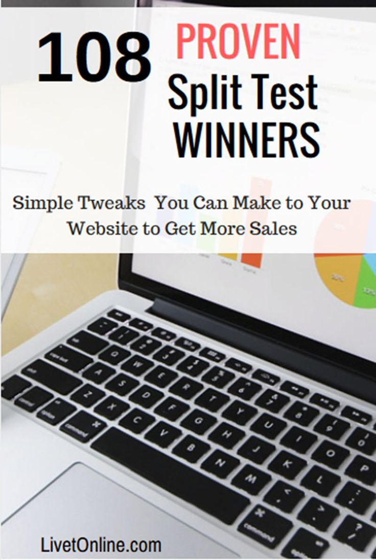 Proven Split test Free Book just pay shipping. These are simple tweaks you can make to your website to get more sales