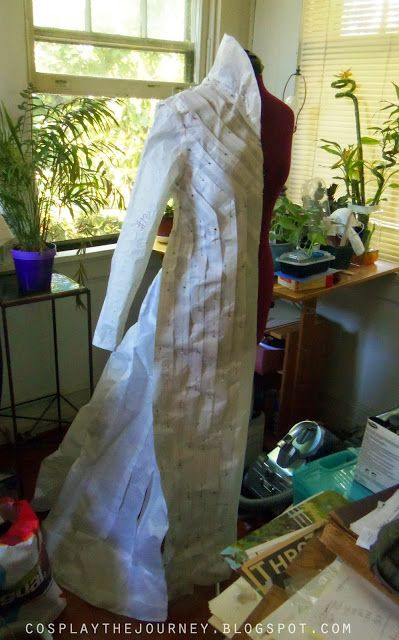 Cosplay The Journey: Thranduil: Finishing The Pattern