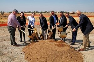 The ground breaking ceremony of the first Sagora Senior Living community in Rocklin, Calif.
