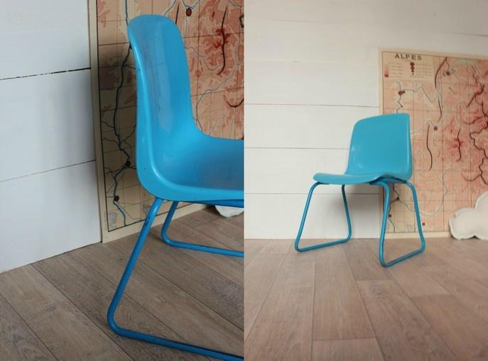 1000 id es sur le th me chaises d 39 cole sur pinterest meubles chaises de bureau et chaises en. Black Bedroom Furniture Sets. Home Design Ideas