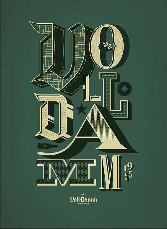 pinterest.com/fra411 #typographic - by Mark Brooks