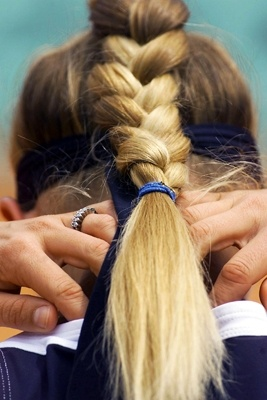 Fantastic 17 Best Images About Volleyball Hair On Pinterest Sport Hair Hairstyle Inspiration Daily Dogsangcom