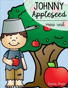 This FREE Johnny Appleseed unit is geared towards grades 1-2 and includes: -Nonfiction passage about Johnny Appleseed -Comprehension questions -Vocabulary sheet -2 writing prompts -Apple themed addition partner game