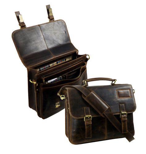 Teczka na laptop biznesowa,wyposażona w pasek,kieszeń na tablet oraz organizer wewnątrz. Wykonana z najwyższej jakości odpornej skóry naturalnej typu pull-up.  TECZKA STONEHIDE LANDLEDER LD433-25 Sklep Multicase24www.multicase24.pl #multicase24 #butikmulticase #landleder #stonehide#teczka #vintage #teczkaskórzana www.multicase24.pl