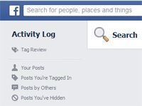 fb_search_activity_log How to hide your activity log on FB