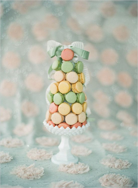 macaroon wedding cake. @Cassandra Adame. you need this for your wedding! not as your BIG cake of course. but something small for the decor!