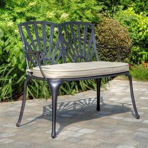 Sunflower Double Dining Arm Chair with Cushion