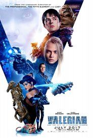 Directed by Luc Besson. With Dane DeHaan, Cara Delevingne, Clive Owen, Rihanna. A dark force threatens Alpha, a vast metropolis and home to species from a thousand planets. Special operatives Valerian and Laureline must race to identify the marauding menace and safeguard not just Alpha, but the future of the universe.
