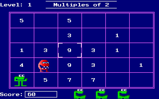 Number Munchers 1, Hell yes!